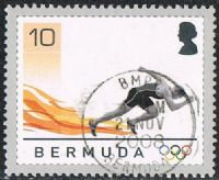 Bermuda SG1020 2008 Olympic Games, Beijing 10c good/fine used